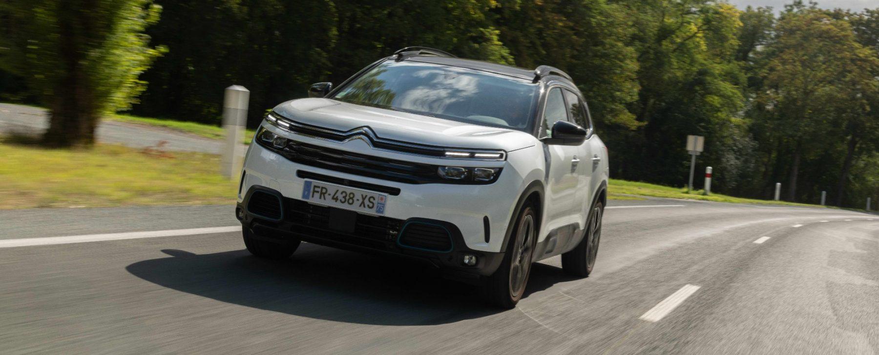 El buen precio y la comodidad del Citroën C5 Aircross híbrido enchufable