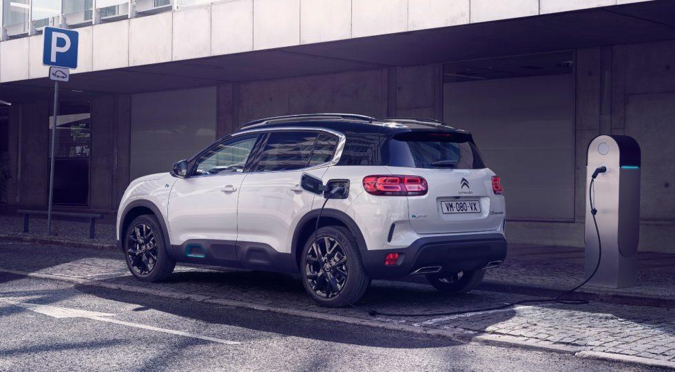 Las imágenes del Citroën C5 Aircross Hybrid