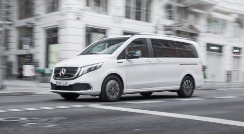 Mercedes EQV 300: refinamiento de berlina, etiqueta Cero y ocho plazas