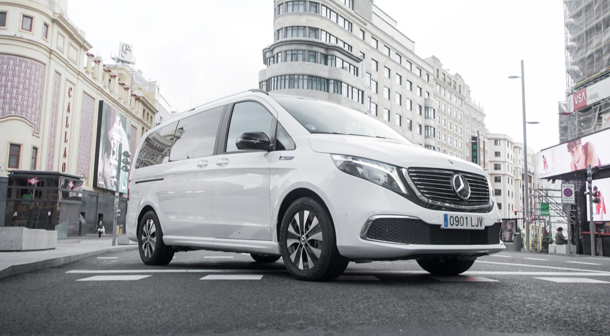 Mercedes EQV 300: un eléctrico extragrande y refinado