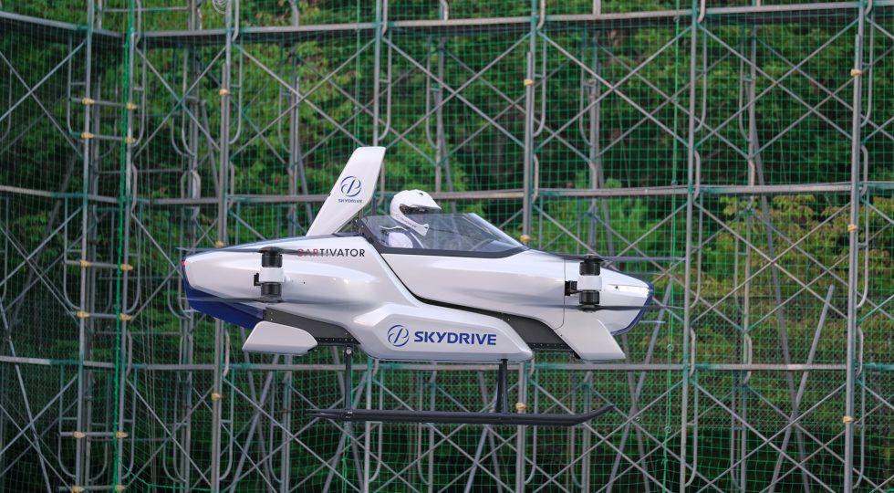 SkyDrive coche volador