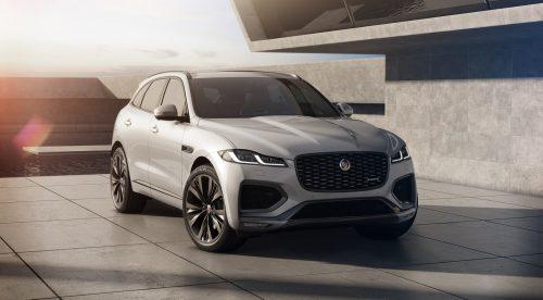 Jaguar electrifica casi toda la gama del F-Pace, su primer SUV