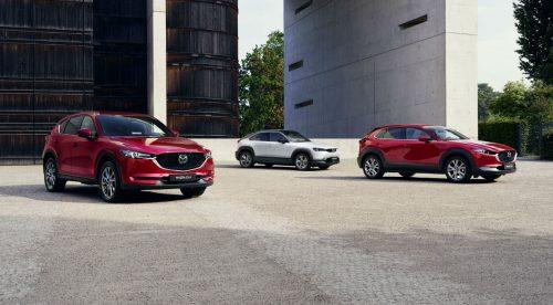 Mazda lanzará en Europa dos nuevos SUV: CX-60 y CX-80