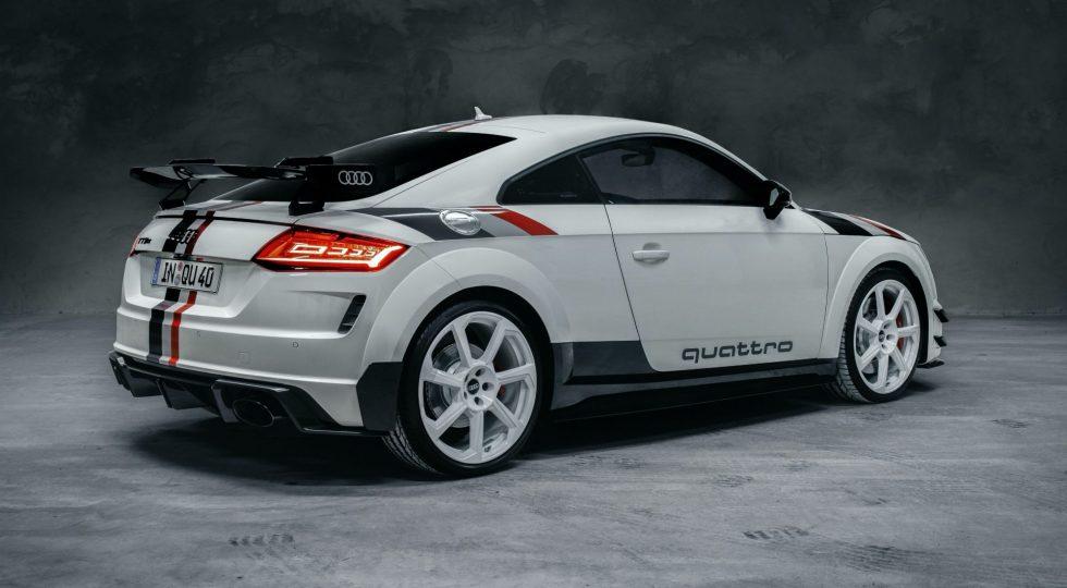Audi TT RS '40 years of quattro'