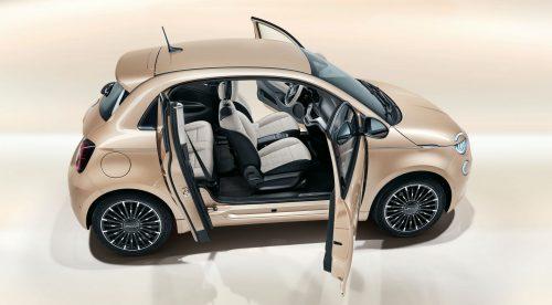 La sorprendente puerta extra del Fiat 500 eléctrico