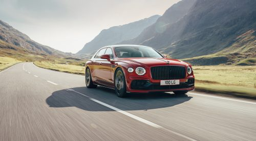 El Bentley Flying Spur estrena un motor V8 de 550 CV