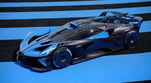 Bugatti Bolide: diseñado solo para el circuito y con 1.850 CV