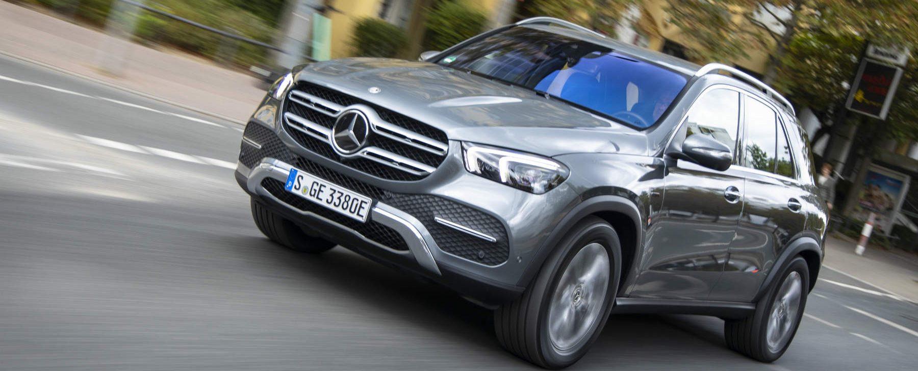 Mercedes GLE hibrido enchufable