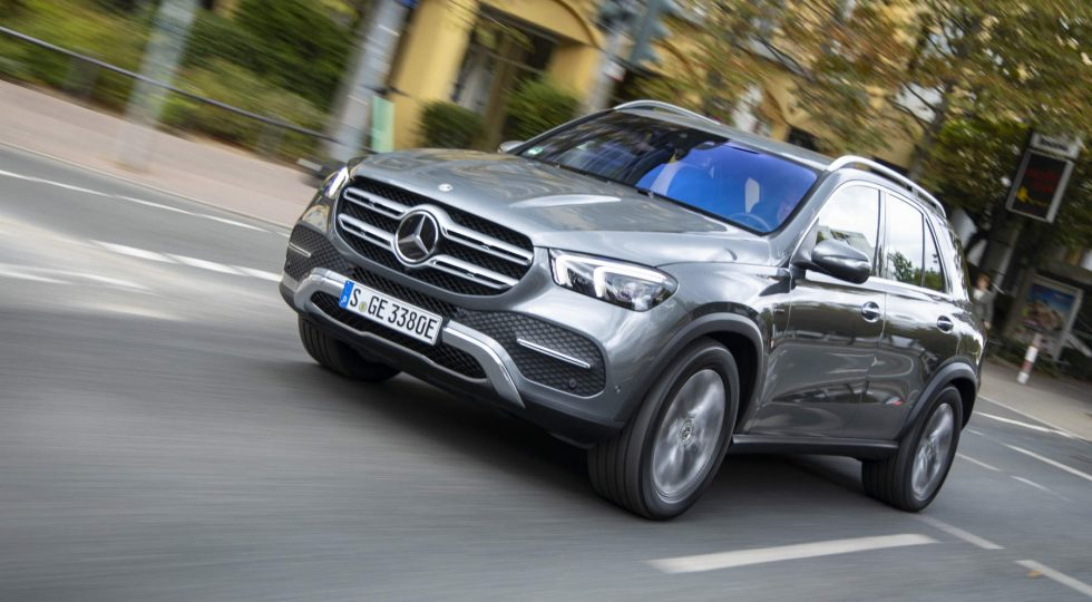 Mercedes GLE hibrido enchufable
