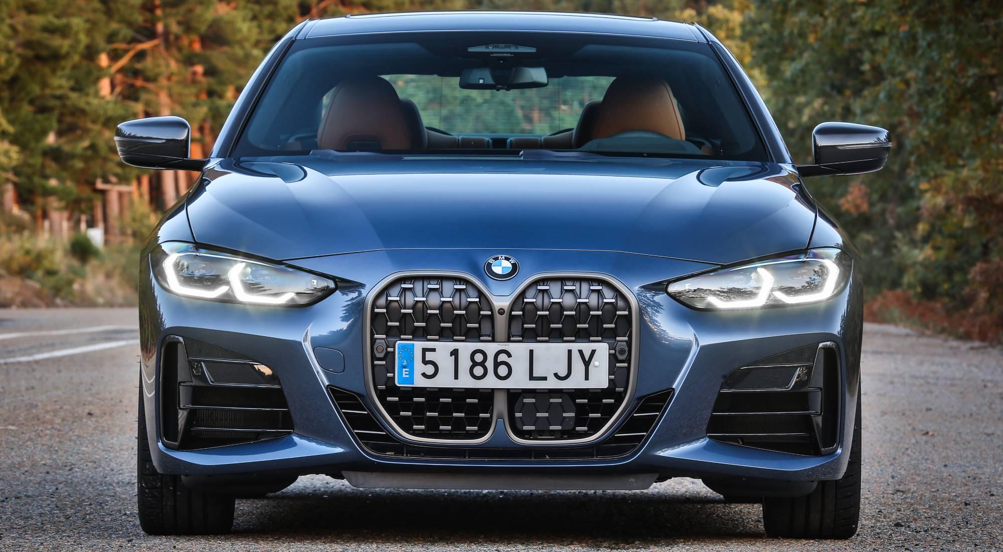 La estilizada silueta del nuevo BMW Serie 4 Coupé