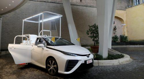 El nuevo papamóvil es un coche de hidrógeno