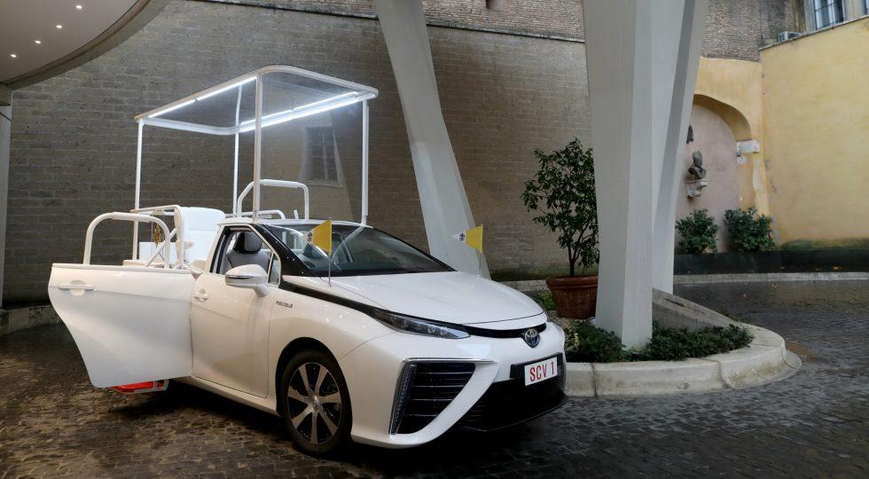Toyota Mirai Papamovil