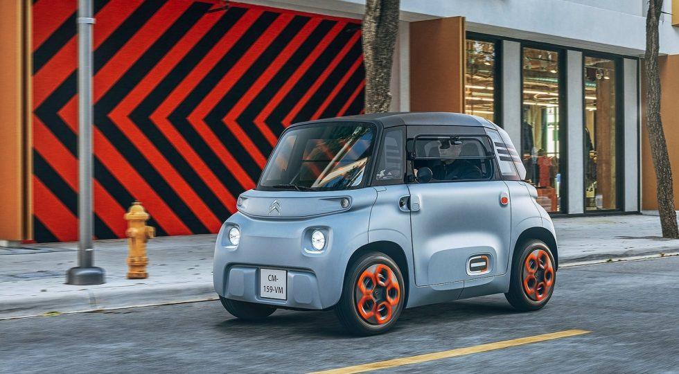 Citroën Ami: un ciclomotor con cuatro ruedas y techo