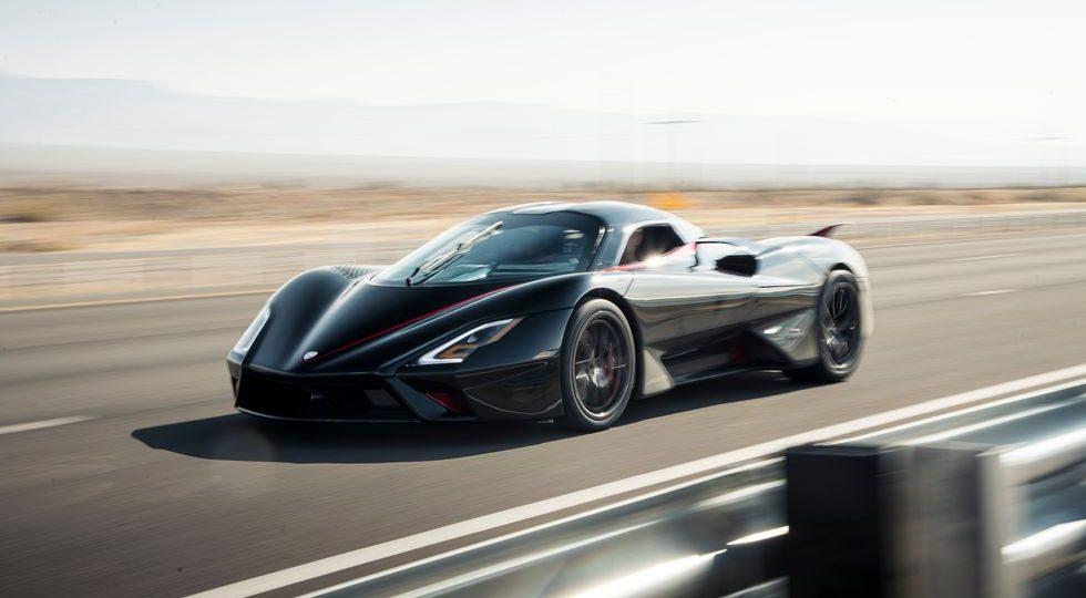 El SSC Tuatara ya es el coche de calle más rápido del mundo: 532,82 km/h