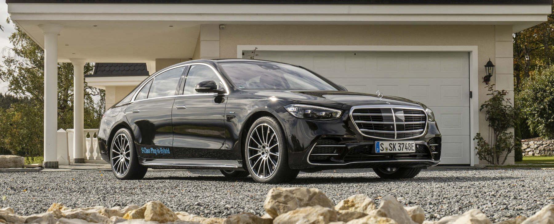 Mercedes Clase S híbrido enchufable
