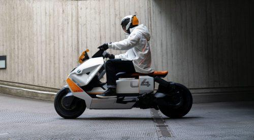 Definition CE 04, el futuro de las motos urbanas según BMW