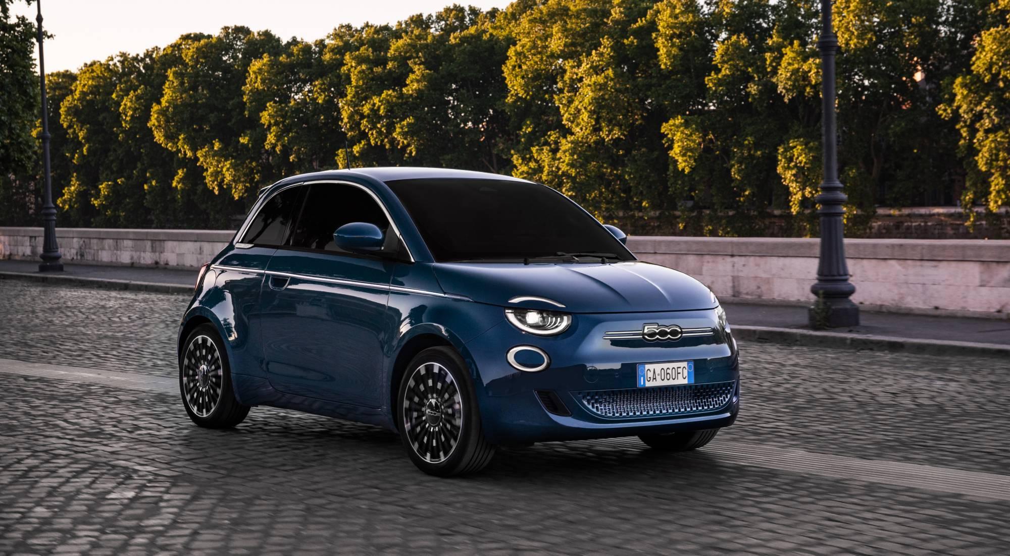 La imagen de siempre para el nuevo Fiat 500 eléctrico