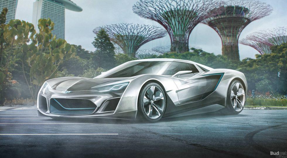 Chevrolet Corvette en 2050
