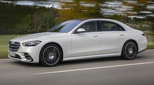 El nuevo Mercedes Clase S rueda como una alfombra mágica