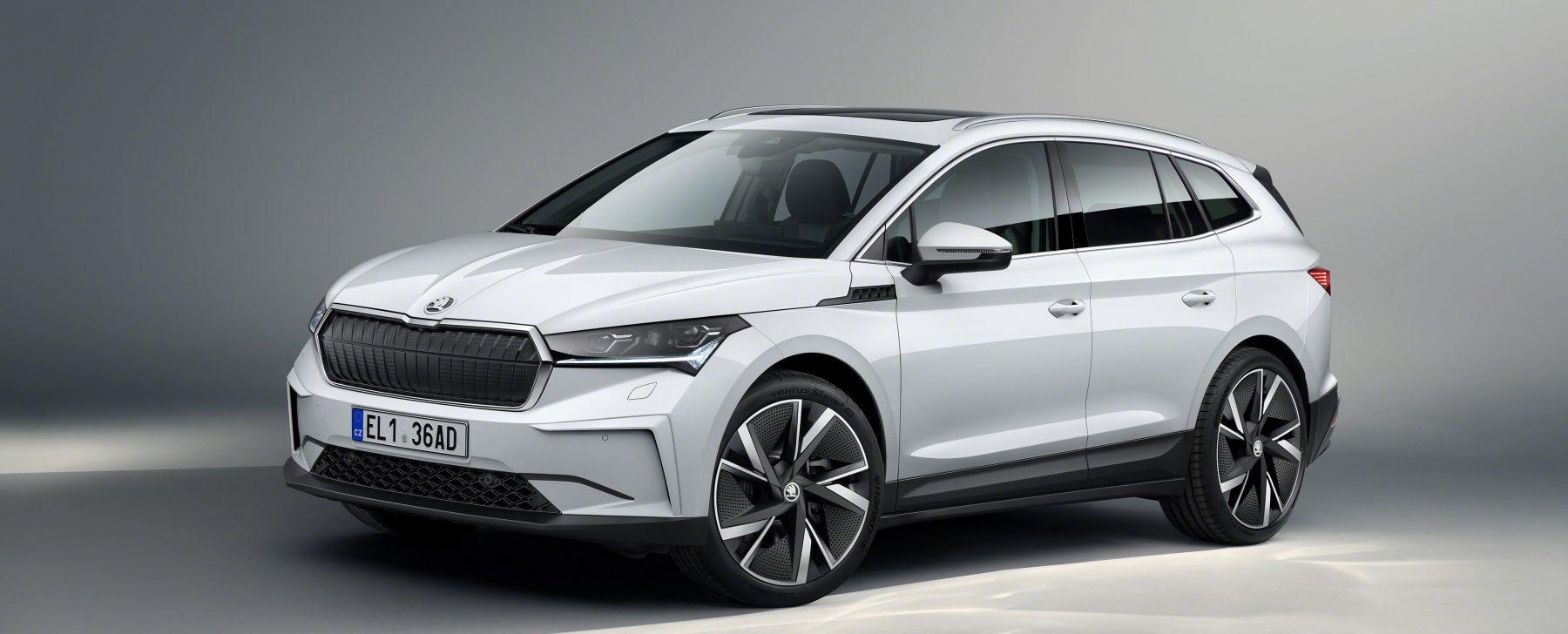 El Enyaq, primer SUV eléctrico de Skoda, llegará en primavera
