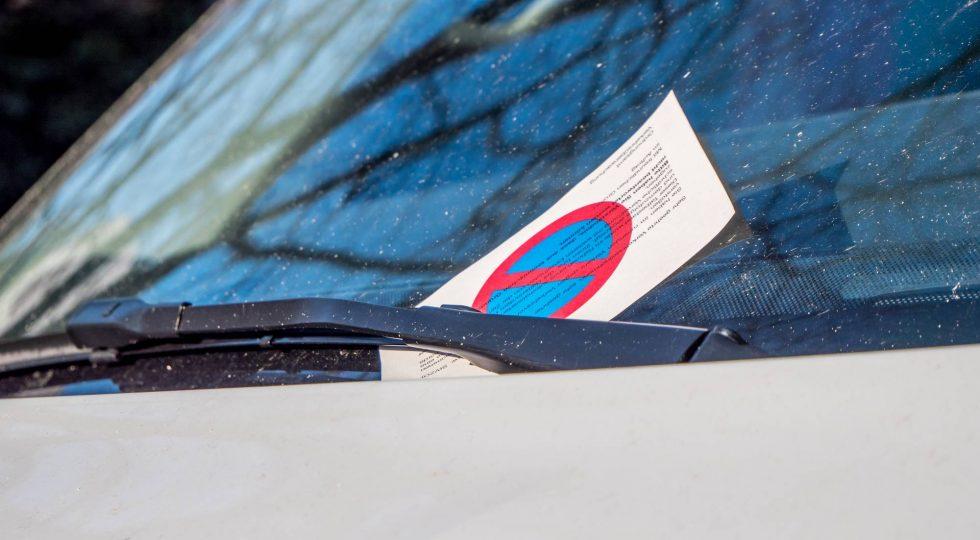 Multas de aparcamiento
