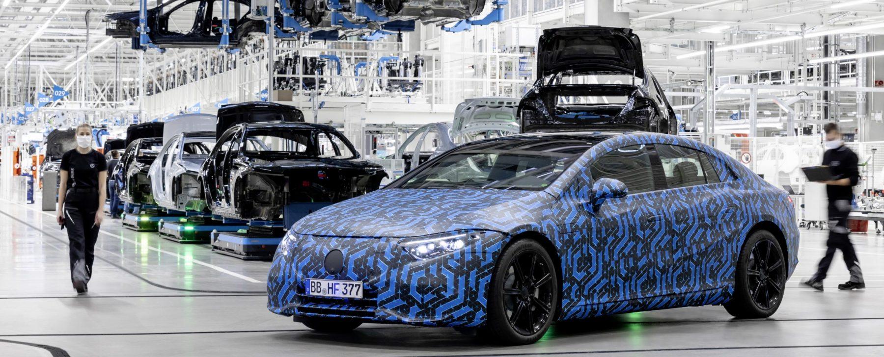 Mercedes lanzará seis nuevos coches eléctricos en un año