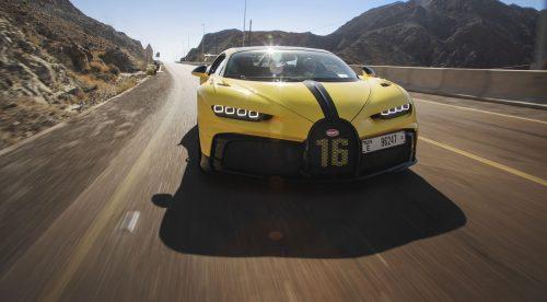 El Bugatti Chiron Pur Sport se pone a punto en las montañas de Dubái