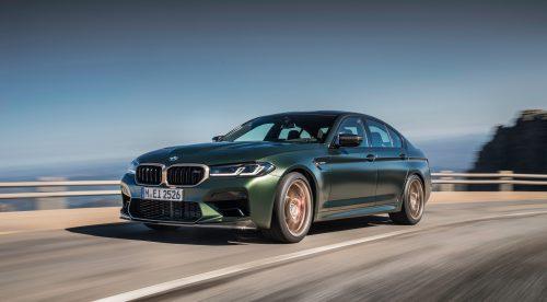 Una superberlina deportiva de 635 CV llamada BMW M5 CS