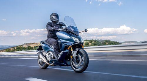 Honda Forza 750: un maxiescúter con gran pegada