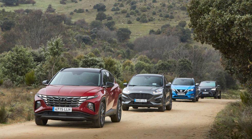 Cuatro SUV para la familia: las mejores imágenes