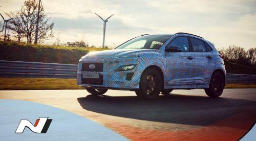 El Hyundai Kona N se muestra en movimiento por primera vez
