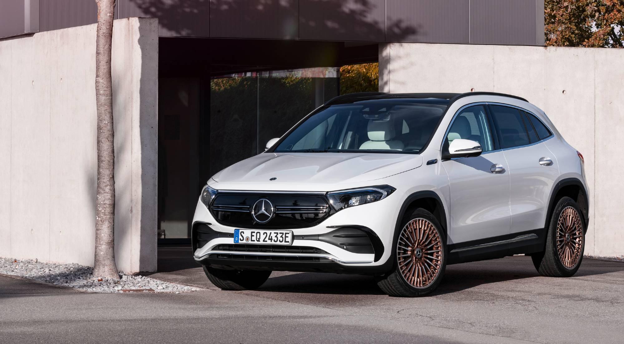 El nuevo Mercedes EQA, desde todos los ángulos