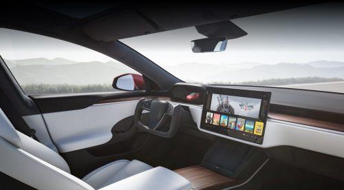Tesla Model S: volante de estilo F1 y 840 kilómetros de autonomía