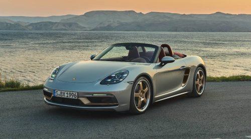 El Porsche Boxster cumple 25 años y lo celebra con una edición limitada