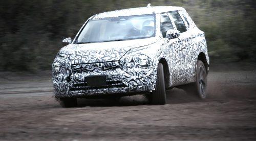 Las duras pruebas de desarrollo que soporta el Mitsubishi Outlander