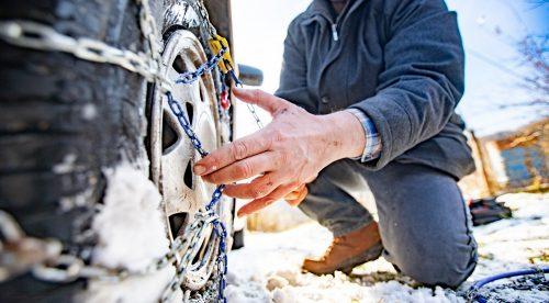 Cuáles son las mejores cadenas para la nieve y cómo se colocan