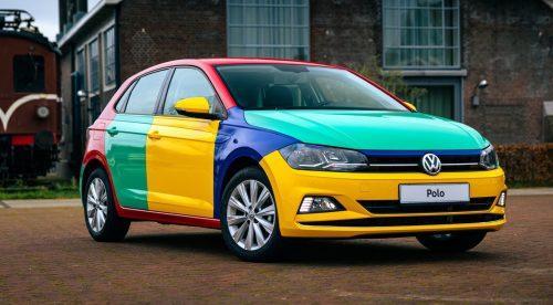 El colorido Volkswagen Polo Arlequín vuelve a la vida