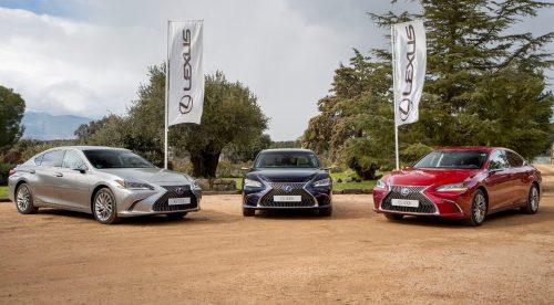 Retrovisores digitales y otras bondades del renovado Lexus ES