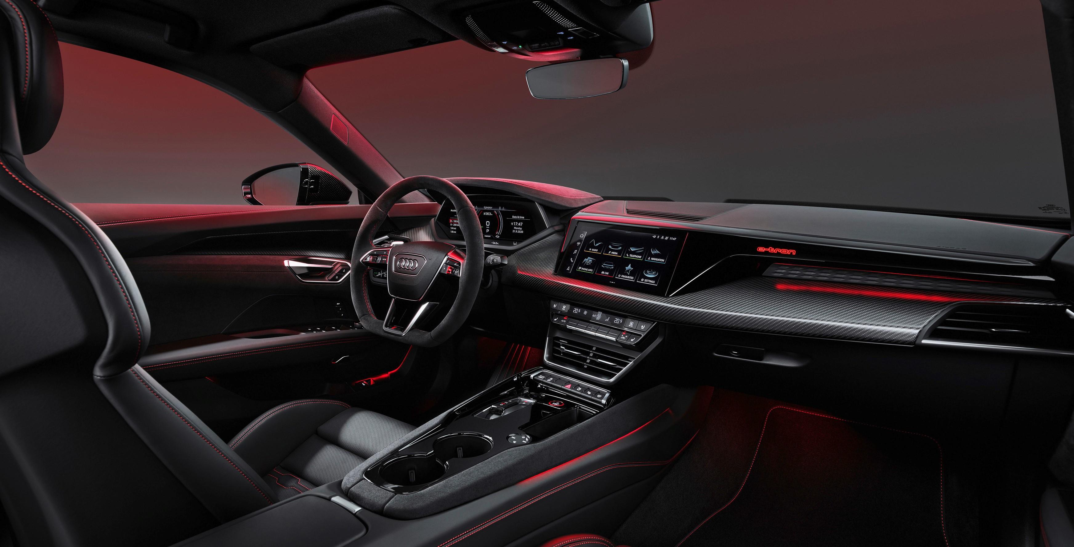 coche electrico Audi RS e tron GT