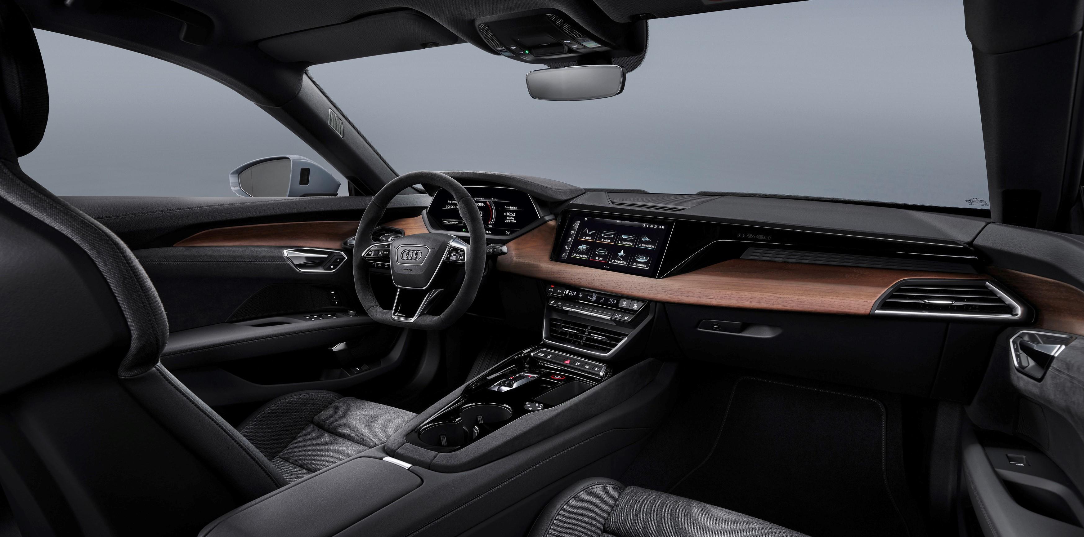 Coche electrico Audi e-tron GT
