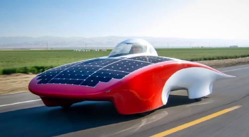 El sueño imposible del coche eléctrico movido por el sol