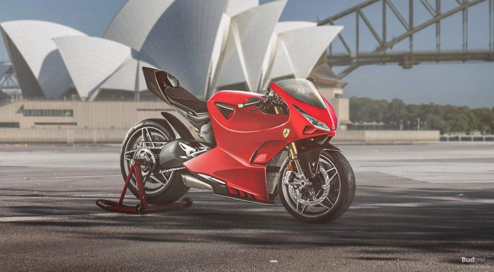 Ferrari moto