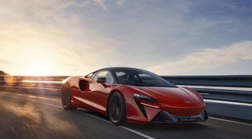 El McLaren Artura es un superdeportivo híbrido enchufable de 680 CV