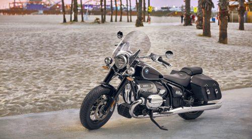 Una moto BMW atípica, al estilo americano