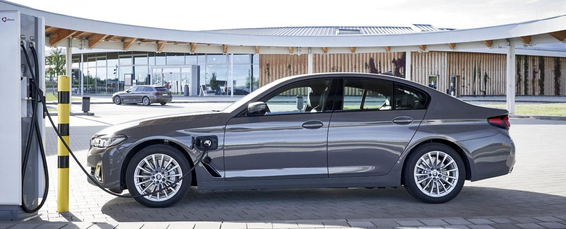 BMW hibridos enchufables