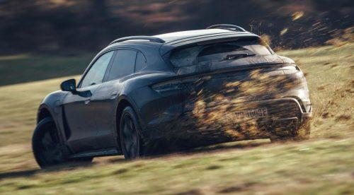 El Porsche Taycan Cross Turismo supera duras pruebas de desarrollo