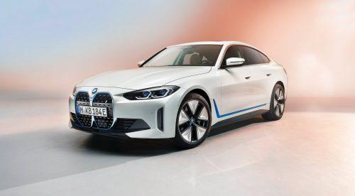 El nuevo BMW i4 eléctrico ofrecerá 530 CV y 590 kilómetros de autonomía