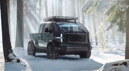 Canoo Pick-up Truck: eléctrico, aventurero y multiusos