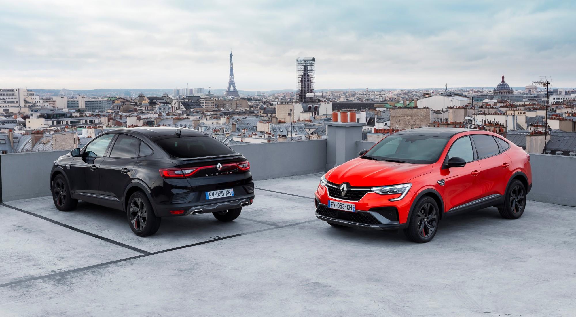 El Renault Arkana, al detalle por fuera y por dentro