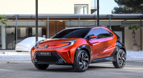 Toyota exhibe un prototipo del nuevo Aygo con mucho músculo